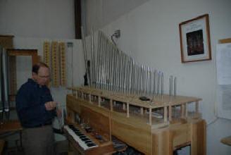 Jim Twyne, Cornel Zimmer Organ Builders
